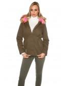 Зимняя куртка парка с мехом MF128 (112128) - материал, 6