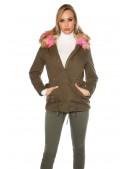 Зимняя куртка парка с мехом MF128 (112128) - 3, 8