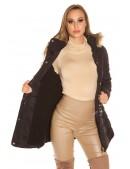 Зимняя женская куртка с капюшоном MF2133 (112133) - материал, 6
