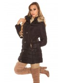 Зимняя женская куртка с капюшоном MF2133 (112133) - цена, 4