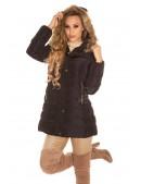 Зимняя женская куртка с капюшоном MF2133 (112133) - оригинальная одежда, 2
