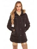Зимняя женская куртка с капюшоном MF2133 (112133) - foto