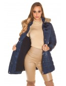 Зимняя куртка женская MF2134-Navy (112134) - цена, 4