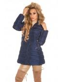 Зимняя куртка женская MF2134-Navy (112134) - 3, 8
