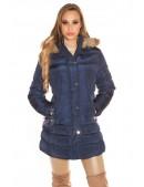 Зимняя куртка женская MF2134-Navy (112134) - foto