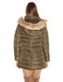 Зимняя женская куртка цвета хаки MF2135 (112135) - оригинальная одежда, 2
