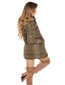 Зимняя женская куртка цвета хаки MF2135 (112135) - 4, 10