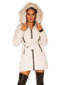 Зимняя куртка с капюшоном и мехом MF138 (112138) - 4, 10