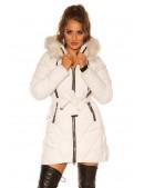 Зимняя куртка с капюшоном и мехом MF138 (112138) - foto