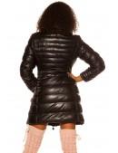 Зимняя стеганая куртка под кожу M139 (112139) - оригинальная одежда, 2
