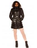 Зимняя стеганая куртка под кожу M139 (112139) - цена, 4