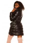 Зимняя стеганая куртка под кожу M139 (112139) - 4, 10