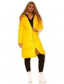Удлиненная зимняя куртка с капюшоном M2140 (112140) - 3, 8