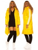 Удлиненная зимняя куртка с капюшоном M2140 (112140) - 4, 10