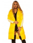 Удлиненная зимняя куртка с капюшоном M2140 (112140) - foto