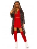 Зимняя куртка-пальто MF141 (112141) - материал, 6