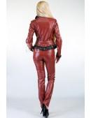 Кожаная куртка (112024) - оригинальная одежда, 2