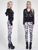 Леггинсы Skulls Punk Rave (128237) - оригинальная одежда, 2