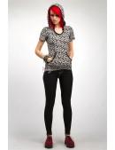Черные леггинсы из стрейч-денима Xstyle (128230) - оригинальная одежда, 2