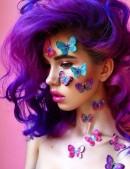 Краска для волос Ultra Violet (HCR11031) - оригинальная одежда, 2
