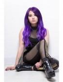 Фиолетовая усиленная краска для волос Ultra Violet (ACR91031) - 3, 8