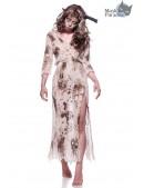 Женский костюм зомби (платье, парик и обруч) (118043) - foto