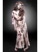 Женский костюм зомби (платье, парик и обруч) (118043) - оригинальная одежда, 2
