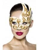 Венецианская маска с камнями и вышивкой A1079 (901079) - foto