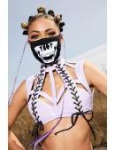 Маска защитная Burning Skull (901082) - оригинальная одежда, 2
