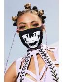 Маска защитная Burning Skull (901082) - foto