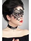 Асимметричная кружевная маска Artistic (901008) - оригинальная одежда, 2