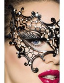 Асимметричная металлическая маска A1017 (901017) - оригинальная одежда, 2