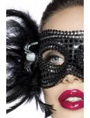 Карнавальная маска с перьями Amynetti (901037) - оригинальная одежда, 2