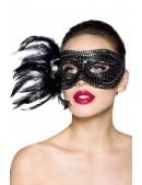 Карнавальная маска с перьями Amynetti (901037) - foto