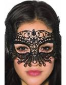 Черная карнавальная маска XC1038 (901038) - оригинальная одежда, 2