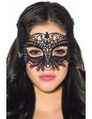Черная карнавальная маска XC1038 (901038) - foto