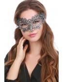 Ажурная серебристая маска Artistic (901040) - цена, 4