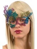 Разноцветная карнавальная маска A1045 (901045) - foto