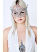 Металлизированная серебристая маска Artistic (901047) - оригинальная одежда, 2