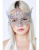 Металлизированная серебристая маска Artistic (901047) - foto