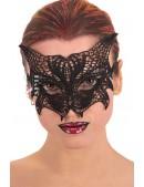 Ажурная черная маска с ушками Artistic (901053) - оригинальная одежда, 2