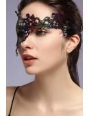 Асимметричная разноцветная маска XC057 (901057) - оригинальная одежда, 2
