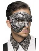 Мужская маска в стиле Steampunk CC1060 (901060) - foto