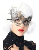 Карнавальная серебристая маска CC1069 (901069) - foto