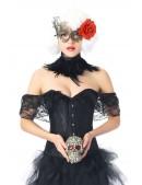 Ажурная маска с цветком CC1070 (901070) - оригинальная одежда, 2