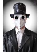 Белая маска чумного доктора XA1072 (901072) - 3, 8