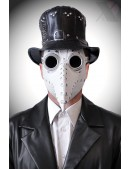 Белая маска чумного доктора XA1072 (901072) - foto