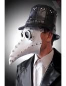 Белая маска чумного доктора XA1072 (901072) - цена, 4
