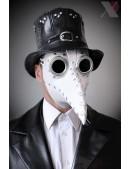 Белая маска чумного доктора XA1072 (901072) - материал, 6