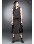 Черный килт с навесным карманом (204085) - цена, 4